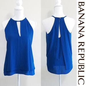 Blouse Banana Republic Color Blue Size S NWOT
